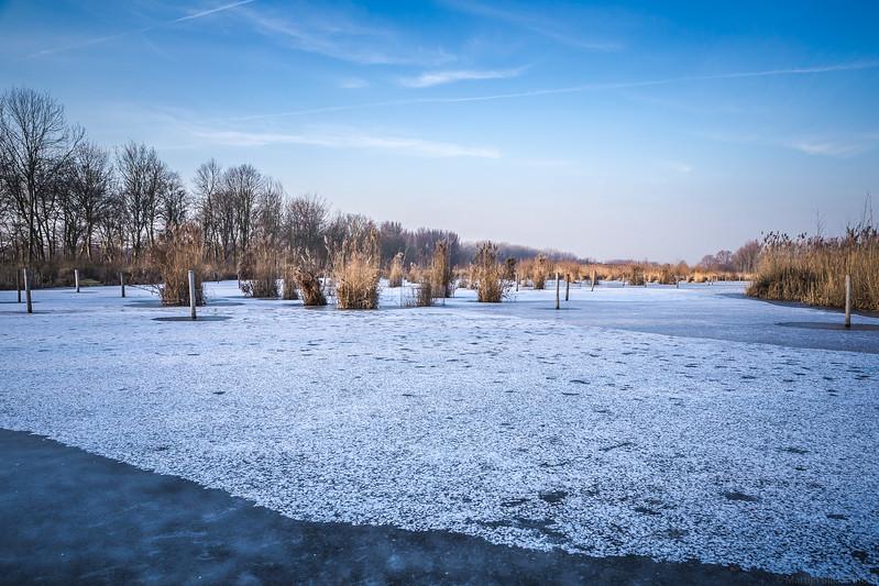 Vlaardingen; Vlaardingervaart; ijs; winter Martijn Blikkenhorst (www.blikkenhorst.nl)